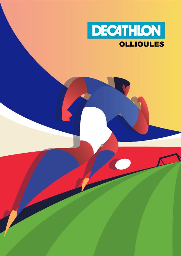Affiche decathlon France