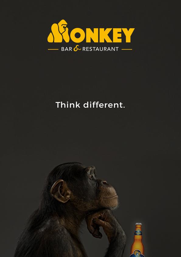 Affiche Monkey bar bière