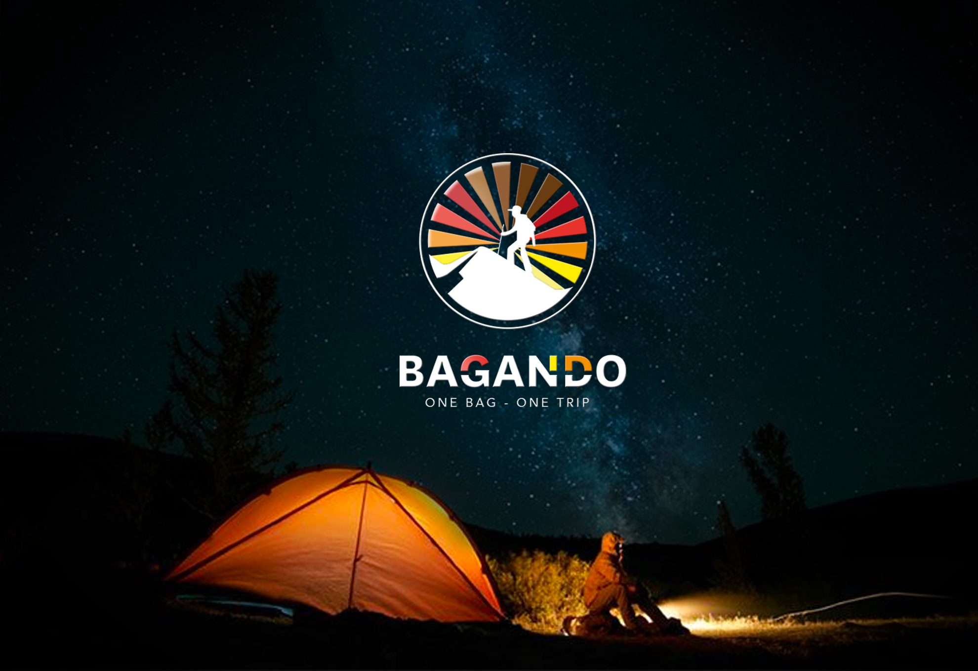 Logo Bagando Camping