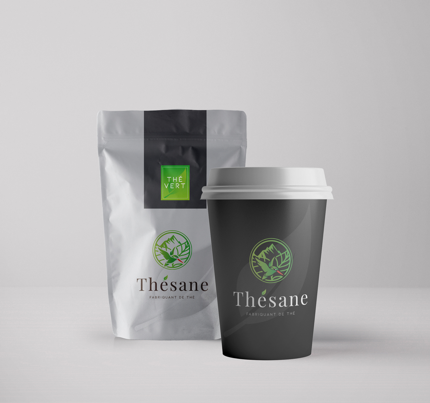 packaging thesane the vert
