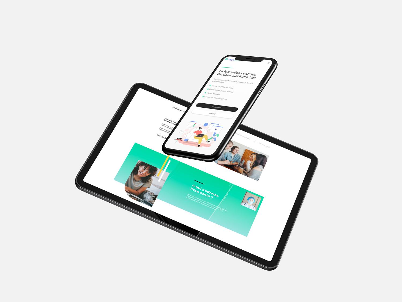 site web responsive peyosante