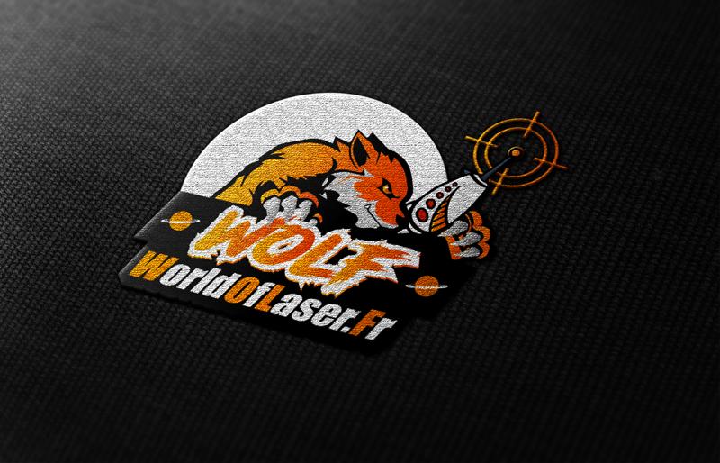 Logo World Of Laser Orange