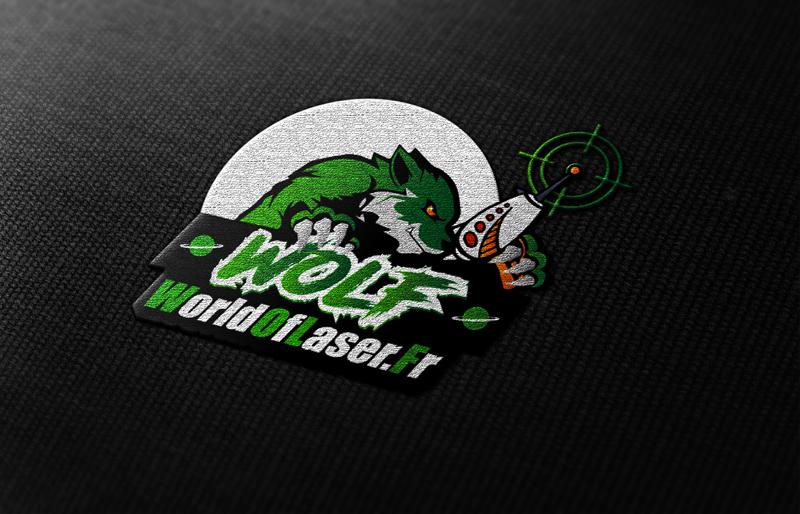 Logo World Of Laser Vert