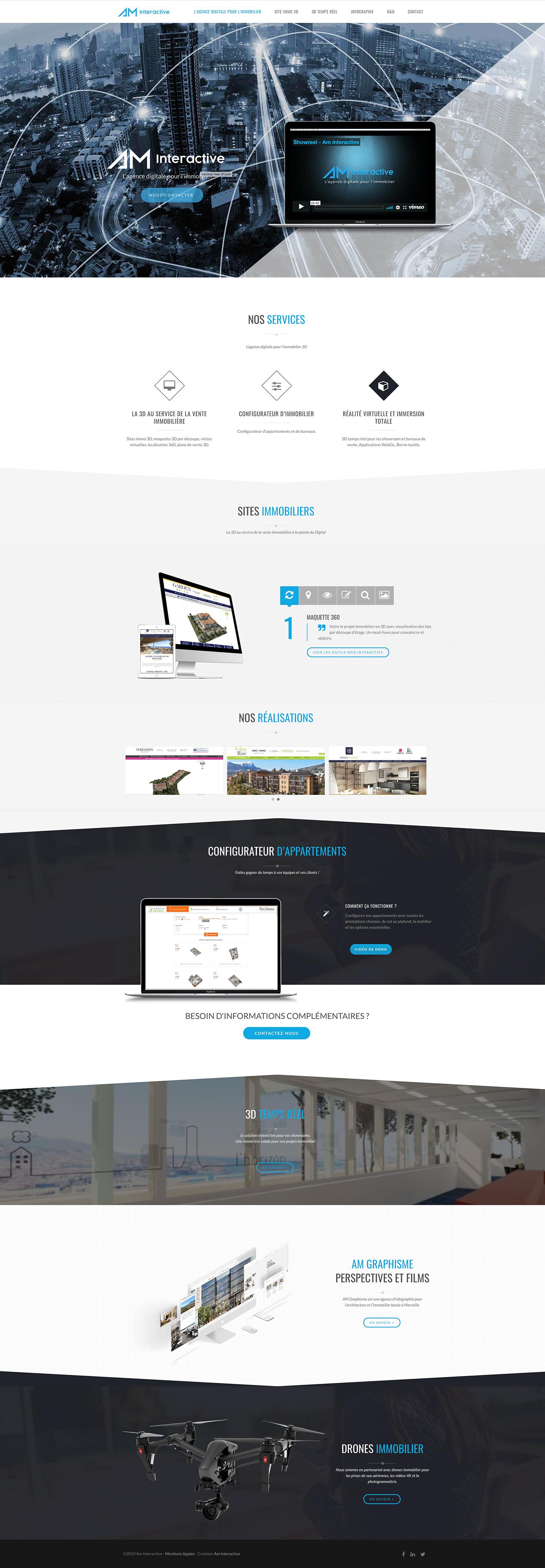 Webdesign Am intéractive Marseille
