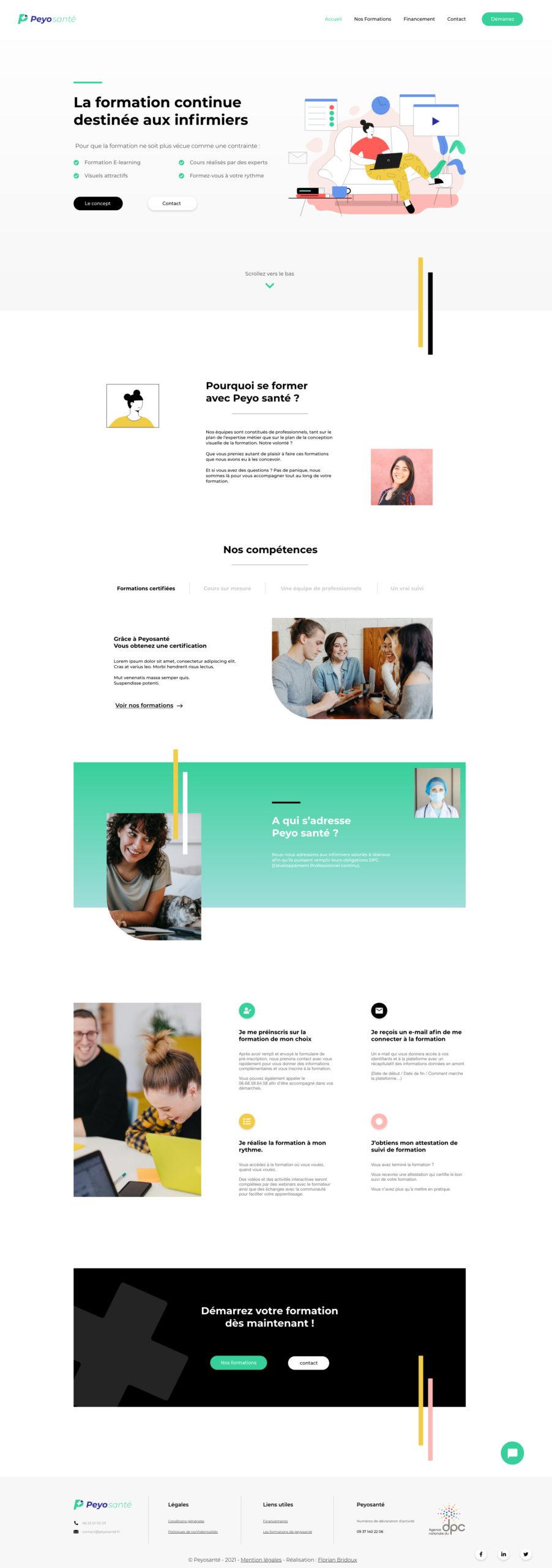 webdesign peyosante