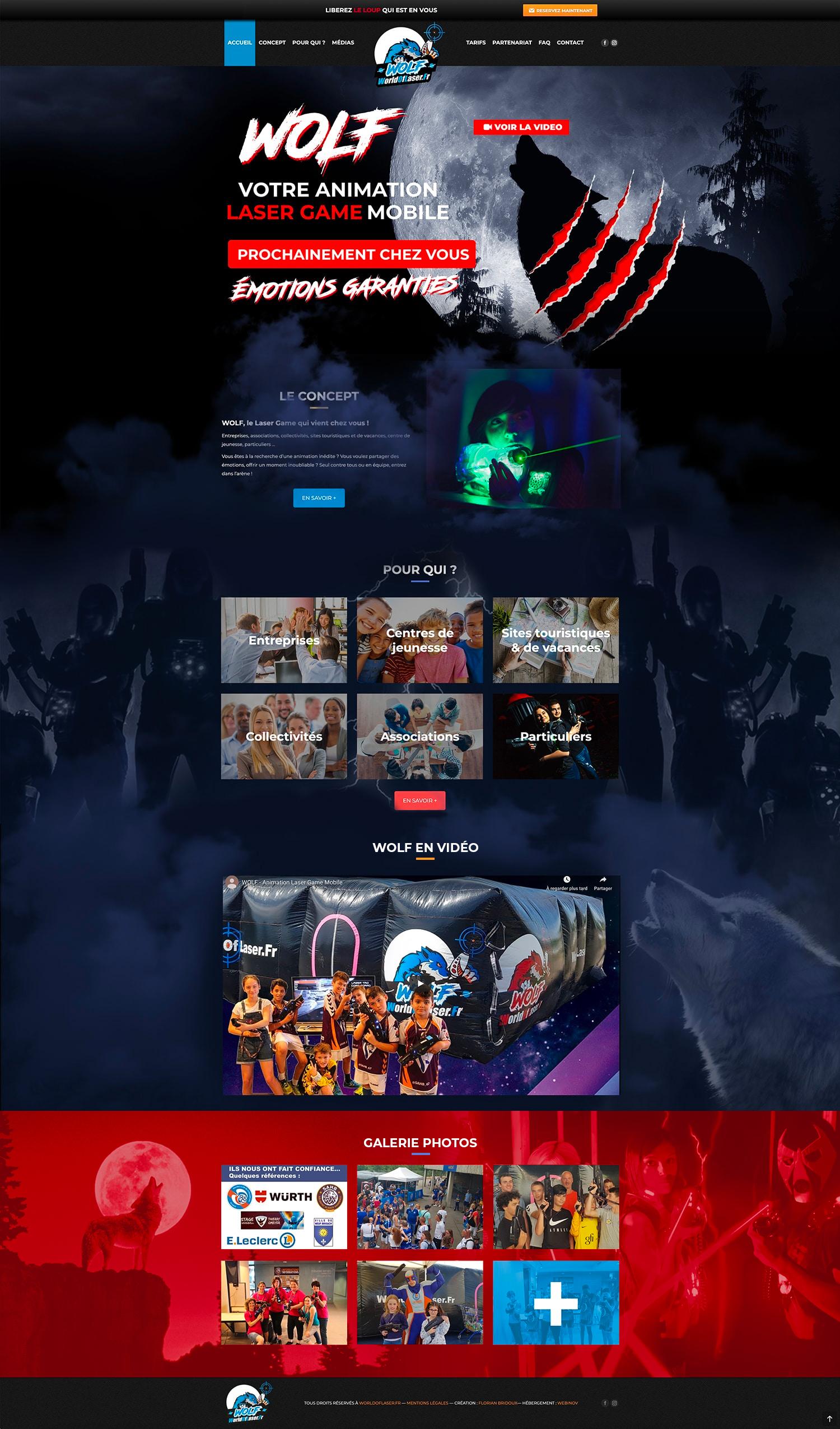 Webdesign World Of Laser