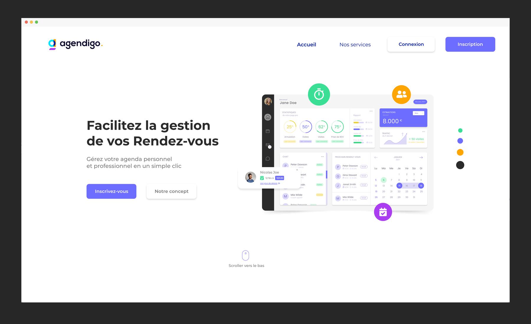 Agendigo Homepage